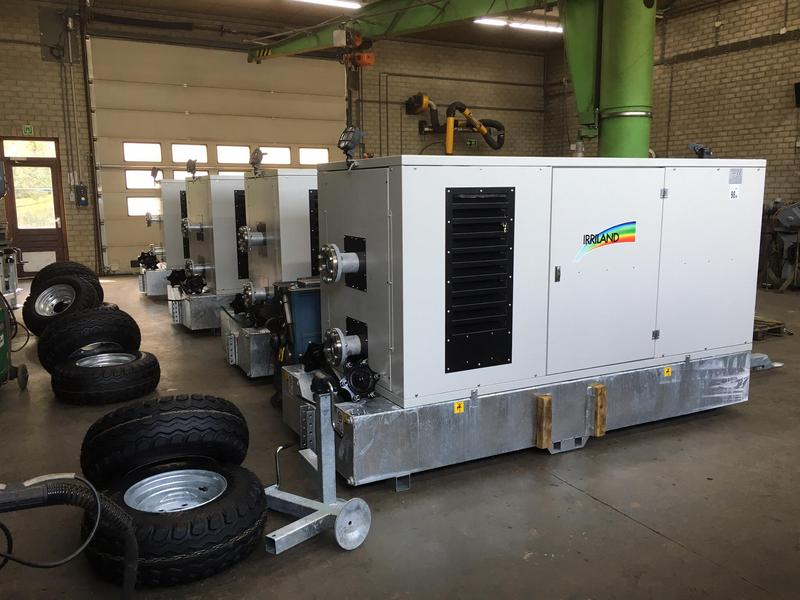 Motor/pomp unit Irriland