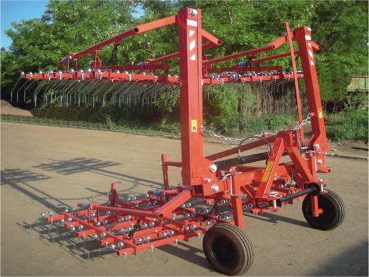 Agro Factory Brona Chwastownik JZAK 3m AF3 / Field Cultivator Meadow grapa cu gheare