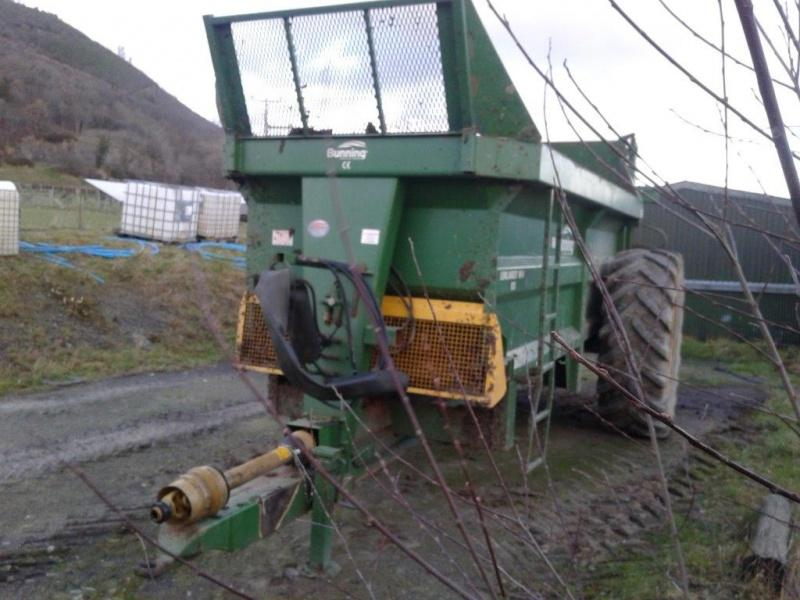 BUNNING MSL 105 Spreader for sale.