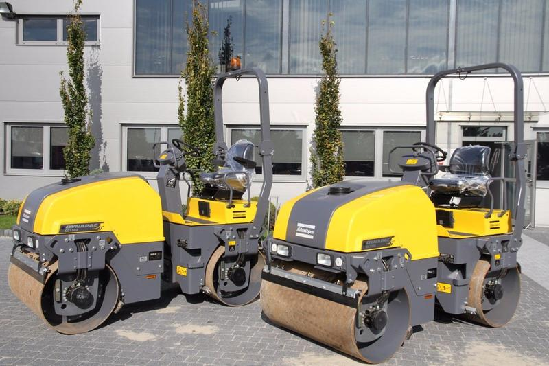 Dynapac DOUBLE DRUM ROAD ROLLER CC1200 PLUS NEW 2017