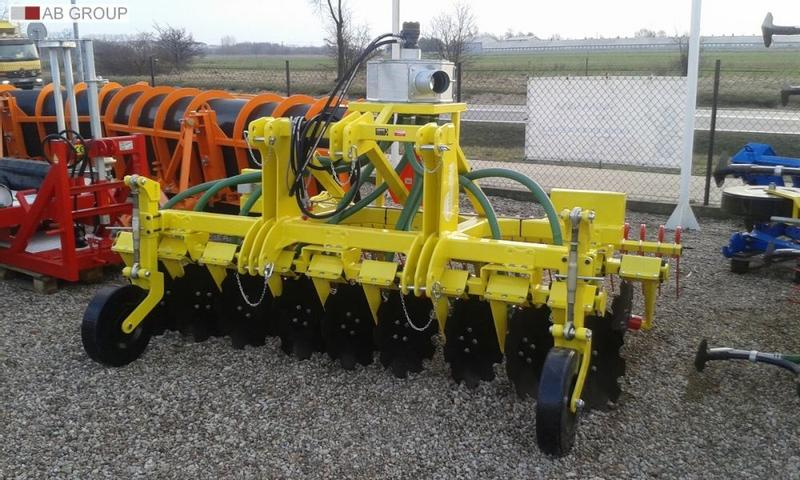 MARCO-POLO Disc slurry applicator/ Aplikator Doglebowy Talerzowy