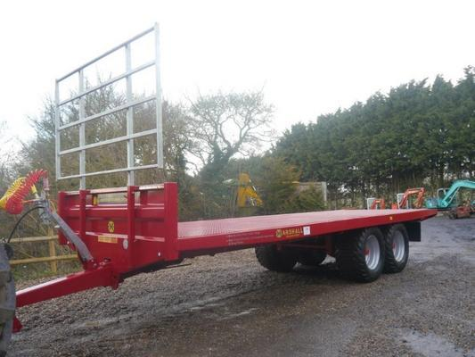 Marshall Flatbed Trailer