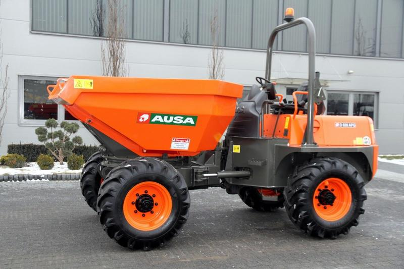 Ausa SWIVEL TIP SITE DUMPER D 600 APG 4x4 NEW