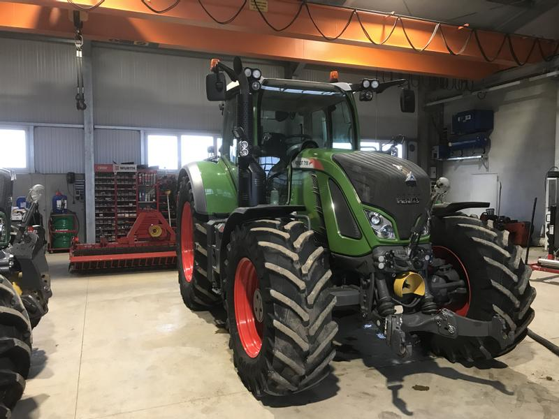 Fendt 718 S4 Profi Naturegreen