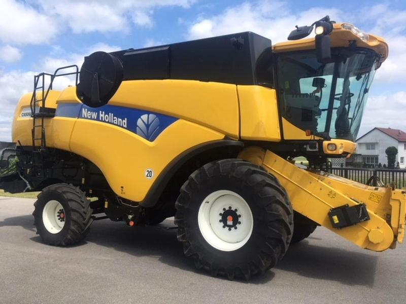 New Holland CX 8060, Varifeet 6,10m, 1.100 Bh, Top Zustand