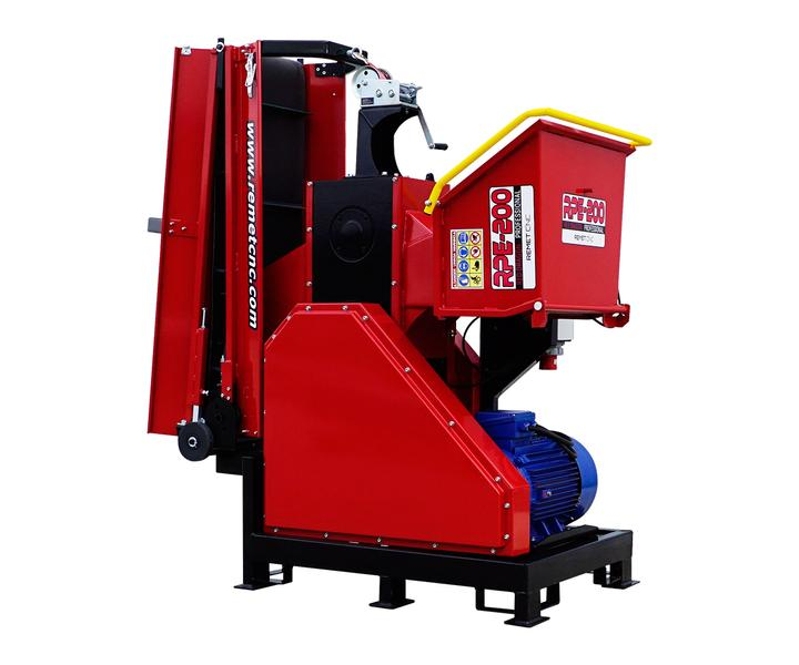 REMET CNC TECHNOLOGY Wood chipper RPE200
