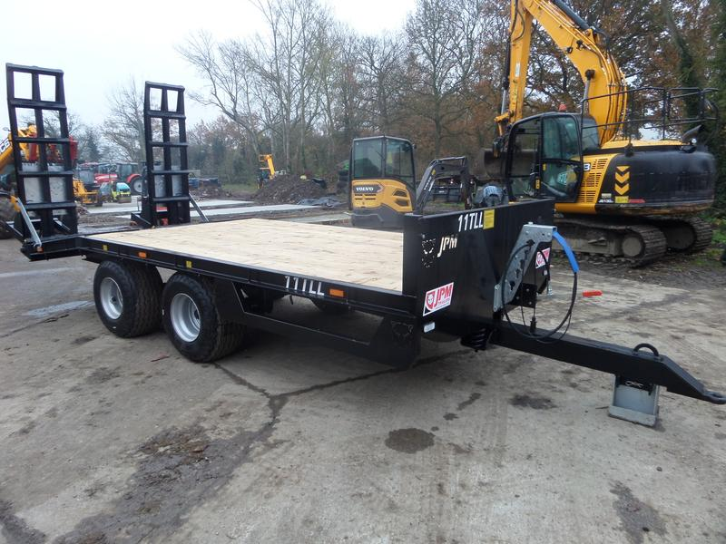 JPM 17FT MINI LOW LOADER