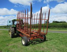 BROWNS 64 Trailed Bale Carrier