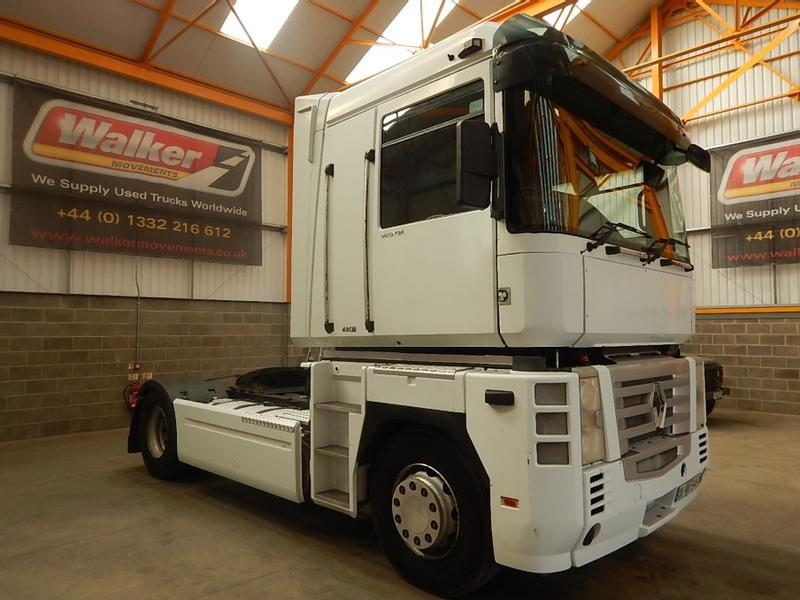 Renault MAGNUM 480, 4 X 2 TRACTOR UNIT - 2006 - 06-WW-5497  (EXPORT ONLY)