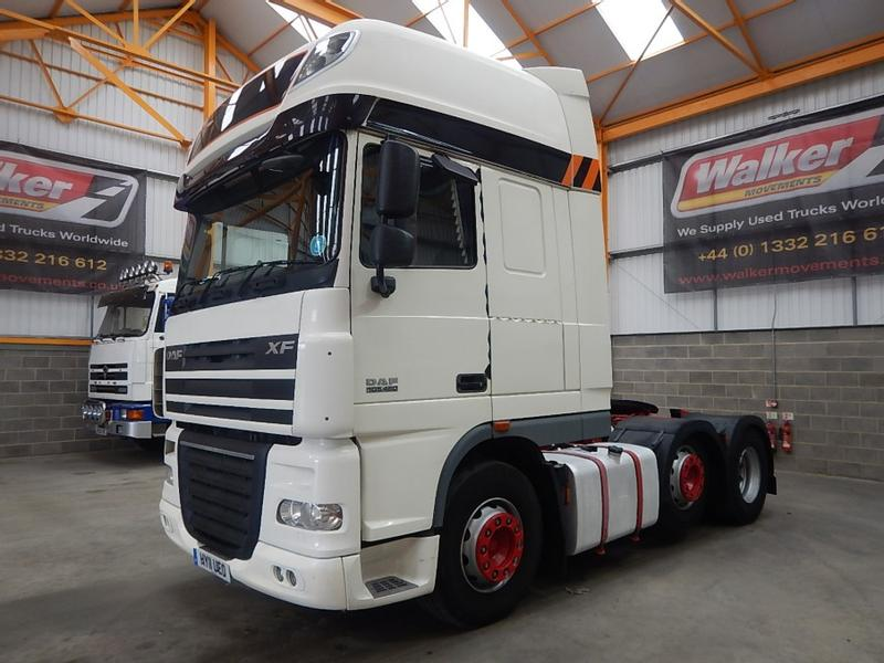 Daf XF105, 460 SUPERSPACE EURO 5, 6 X 2 TRACTOR UNIT – 2011 - HY11 UEO