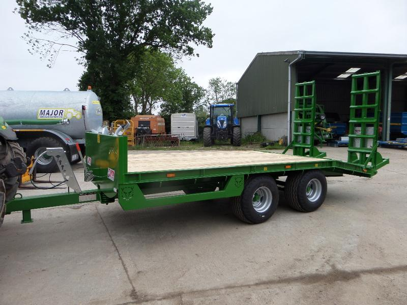 JPM 17FT 8 TONNE LOW LOADER TRAILER