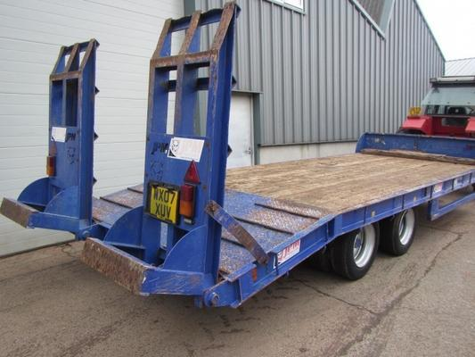 Sonstige JPM 15 tons low loader trailer, 05/2012