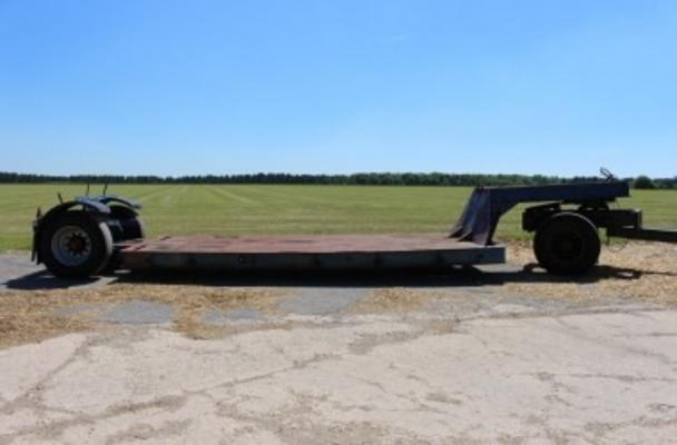 Sonstige 1972 SINGLE AXLE LOW LOADER TRAILER