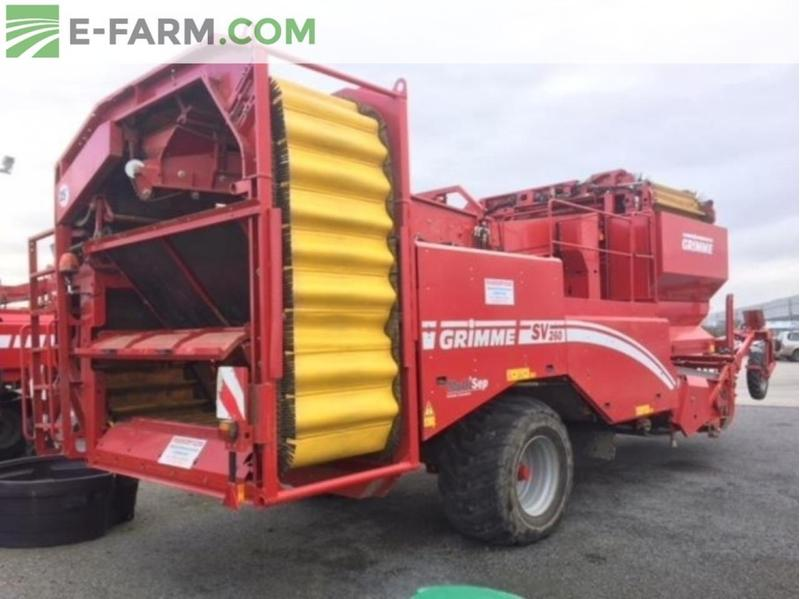 Grimme SV 260 SMS BLOWER