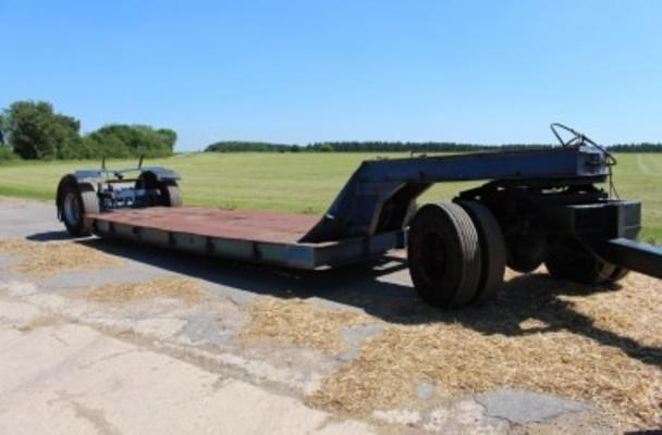 Other 1972 SINGLE AXLE LOW LOADER TRAILER