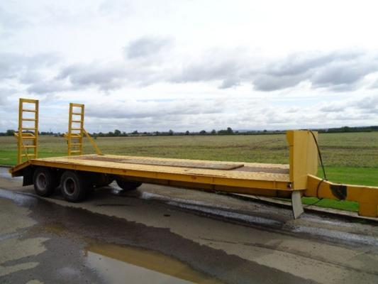 Sonstige Used 26FT Low Loader Trailer