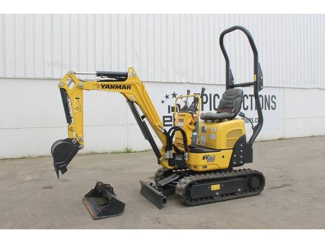 Yanmar SV08 Mini Graafmachine