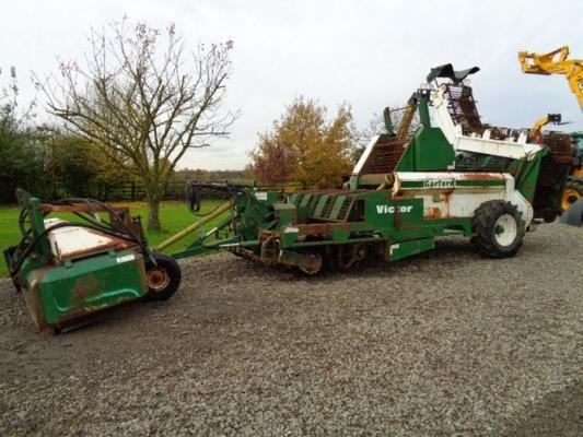 Used Garford 4 Row Beet Harvester