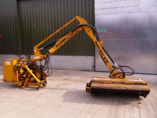 Used Mcconnel Power Arm 470 Hedgecutter